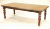 Victorian Table with D End - Solid Mahogany
