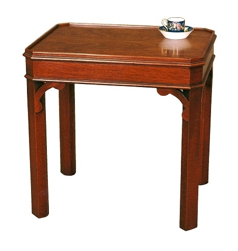 Cranmore Chippendale Lamp Table - Solid Mahogany
