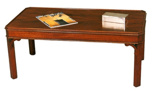 Cranmore Chippendale Coffee Table - Solid Mahogany