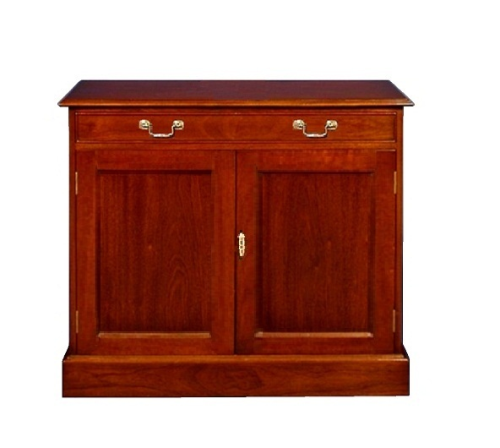 Two Door Regency Sideboard - Solid Mahogany