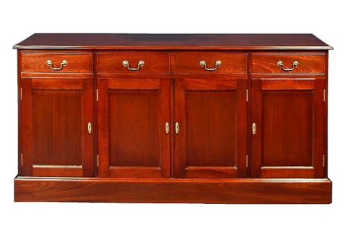 Four Door Regency Sideboard - Solid Mahogany