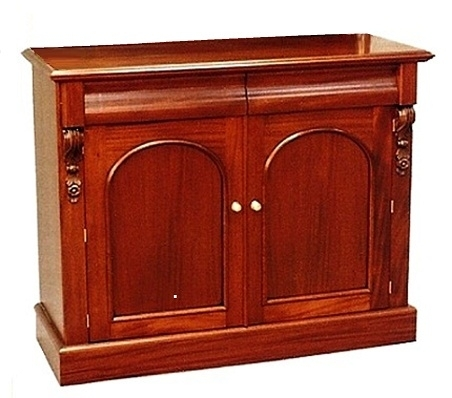 Victorian Two Door Sideboard-Solid Mahogany